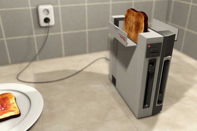 Nintendo Toaster!