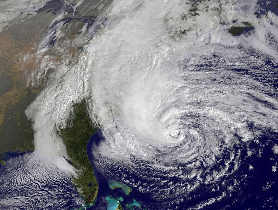 Hurricane Sandy AKA Frankenstorm takes over