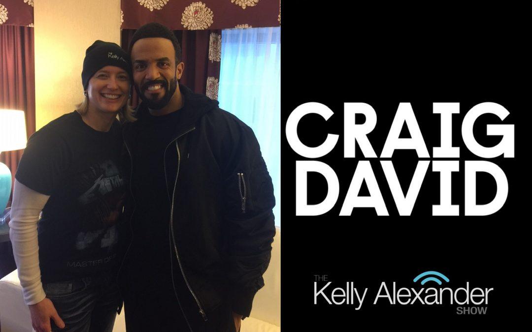 Craig David on The Kelly Alexander Show!