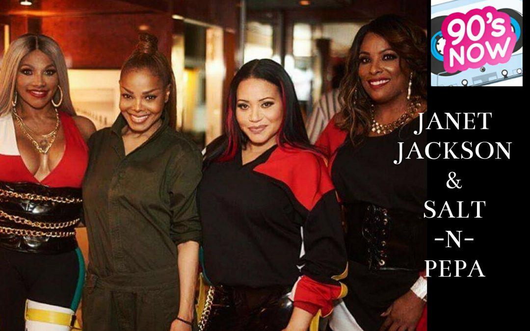 Janet & Salt-N-Pepa Rockin' Billboard Awards!