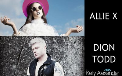 Pop Artists Allie X and Dion Todd!