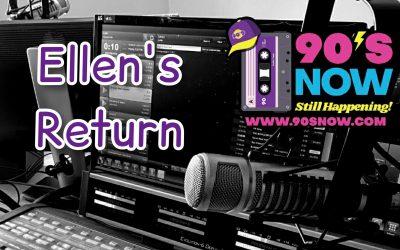 Ellen's Return!