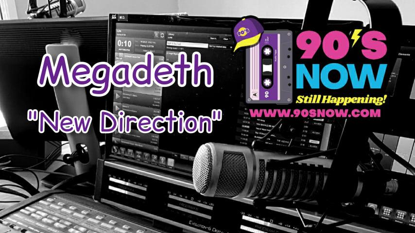 Megadeth – New Direction!