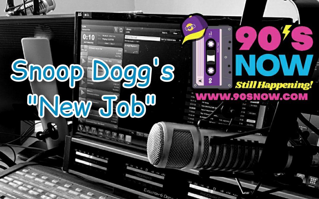 Snoop Dogg's New Job!