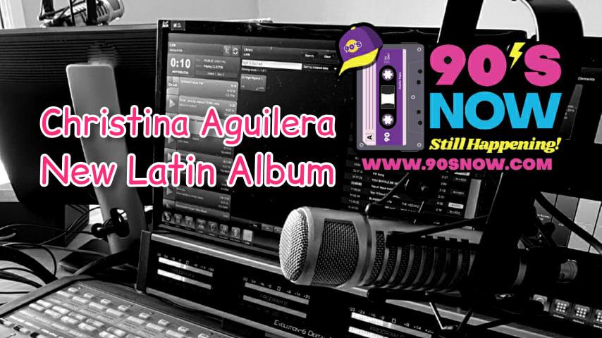 Christina Aguilera – New Latin Album!